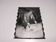 RARE VINTAGE PHOTO NEGATIVE TEST COLOR PROOF JULIO IGLESIAS FROM ROGUE MAGAZINE