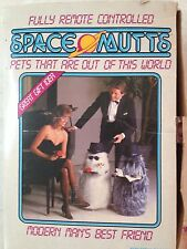 Vintage Space Mutts Mutt Remote COntrol Robot Toy Server MIB Servitron 80's WOW!