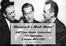 HANCOCKS HALF HOUR - 117 CLASSIC OLD TIME COMEDY RADIO SHOWS - AUDIO MP3 2 CD's