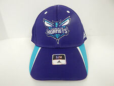 Adidas Charlotte Hornets Purple/White/Teal FitMax Fitted 100% Polyester Cap-S/M-