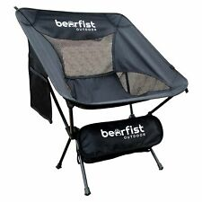 Bearfist Outdoor Ultralight All-Purpose Portable Backpacking Camp Chair