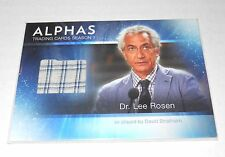 Alphas TV-Show Costume Trading Card David Strathairn as Dr.Rosen M6