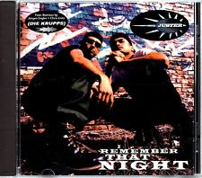 JUSTER - I REMEMBER THAT NIGHT -1994 6 TRACK CD E.P.