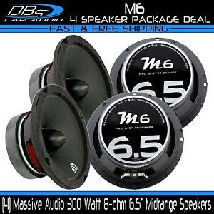 "MASSIVE AUDIO 200W 5/"" x 7/"" Midrange Pro Audio Car SpeakerM57C"