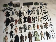 """Star Wars Lot Of 35 Action Figures 3.75"""" With Weapons And Accessories"""