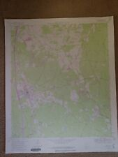 Large 28x22 1960 Topo Map Willis, Texas Pitts Gas Field Sam Houston Forest