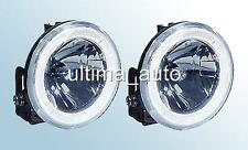 ANGEL EYE LED DRL FOG LIGHTS FOR PEUGEOT PARTNER BOXER EXPERT 10CM