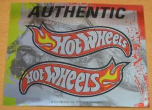 HOT WHEELS DUAL METALLIC STICKERS 2003 MATTEL AUTHENTIC (2 SETS OF 2)