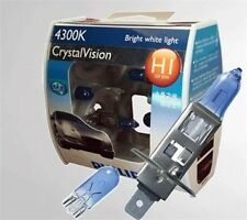Philips Crystal Vision 4300K Headlight Bulbs H1 (2 Pc) With parking bulbs