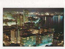 English Bay Apartment Area Vancouver Canada Postcard 772a