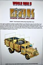 first legion 54mm ww2 German Afrika Korp Opel Blitz truck 1 fig #DAK011 mib