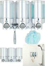 Better Living Products 76335-1 Aviva 3 Chamber Wall Mount Soap and Shower Dispen