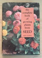 Vintage Hardback The Complete Book of Growing Plants from Seed Elda Haring 1967