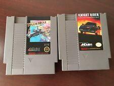Knight Rider (Nintendo NES, 1989/Tiger-Heli (Nintendo NES),1980's TESTED
