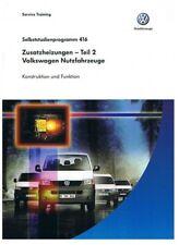 VW Bus T5 - Reparaturleitfaden - SSP 416 - Standheizung