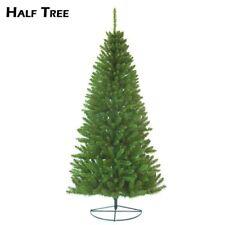 8ft Half Tree - Christmas  wallmounted freestanding corner