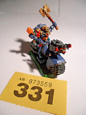 Warhammer 40k Ulrik The Slayer converted bike rider Priest Space Wolves Y331