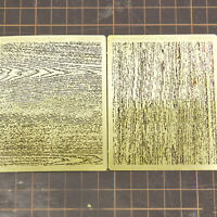 LIANG-0303+0304 Airbrush Stencil Wood Texture DIY Model for 1/32 1/35 1/48 Scale