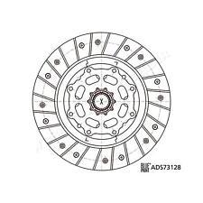 Clutch Disc For SUBARU HONDA Impreza Legacy III IV Outback City II 30100AA672