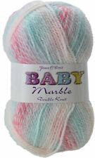 BABY MARBLE by JAMES C BRETT   DOUBLE KNITTING WOOL YARN   100%25 ACRYLIC  DK KNIT