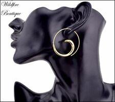 Alloy Hoop Fashion Earrings