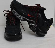 Nike Tuned 1 Red Dark Grey & Red Men's Women's Trainers Sizes 6,7,8,9