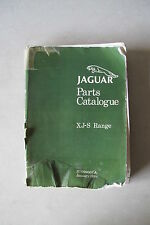 Original Jaguar XJ-S Range Parts Catalogue RTC9900CA 1989