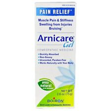 2 X Boiron Arnicare Gel Homeopathic Medicine Pain Relief 2.6 oz  EXP 2/22 Notes