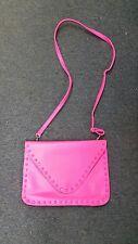 BSK Accessories Bershka Cross body Pink Purse Converts to Clutch Messenger Bag