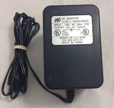 Eng 12V 850mA Ac Adapter Class 2 Transformer Model 48-12-850D