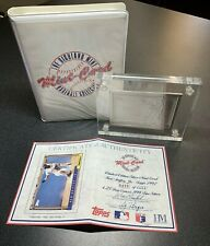 Highland Mint Sports Collection MARINERS KEN GRIFFEY JR 4.25 oz 999 Silver Topps