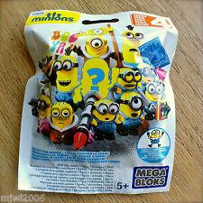 MEGA BLOKS Minions BLIND PACKS SERIES 4 (IV) Despicable Me Factory Sealed Bag