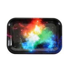 """Rolling Tray """"Space Clouds"""" (Large) 11.25"""" x 7.5"""" Tobacco Smoke Accessories"""