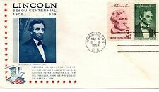 US Event, Lincoln Inauguration, Lincoln Society Of Philately (7199)aa