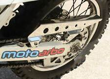 MOTO ARBO Suzuki DRZ 400 S/SM Polished Stainless Steel Chain Guard Super Moto