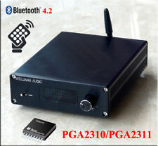 Finished F3 Bluetooth 4.2 Remote Preamplifier Stereo HiFi PGA2310 Preamp