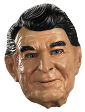 Ronald Reagan Adult Vinyl Full Mask for Costume