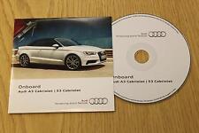 Genuine Audi A3 S3 Cabrio Onboard CD Disco Manual Manual 153.565.8V7.88