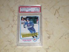 PETER STASTNY 1981 O-PEE-CHEE #269 PSA 8 GREAT CENTERING