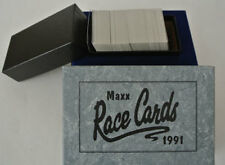 Maxx Race Cards 1991 Collector Collectible Box Set of 240 Excellent Complete