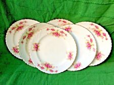 Early 20th Century Samuel Radford Fenton porcelain 6 dessert/sandwich plates