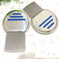 Pets Cat Dog Health Combs for Head Lice Nit Flea Eggs Detection Dirt Dust Remove