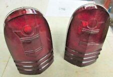 vintage OEM FOMOCO Mercury 1951  TAIL lamp LENS  49 50 51 52 53 54 hot rod