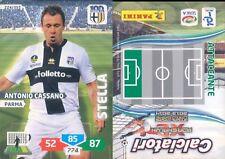 N 279 CASSANO CARD CALCIATORI PANINI ADRENALYN 2014//15 PARMA