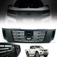 ABS Plastic Front Bumper Grill Grille Black Edition For 14+ Nissan Navara NP300