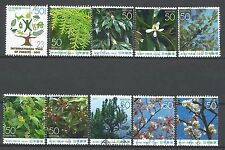 ˳˳ ҉ ˳˳R792 Japan Prefectural Year of Forests Wakayama 2005 Plants complete set