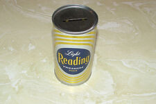 Nos, Reading Light Premium Beer S/S Flat Top Can Bank