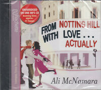 Ali McNamara From Notting Hill With Love Actually NEW* MP3 CD Audio Book