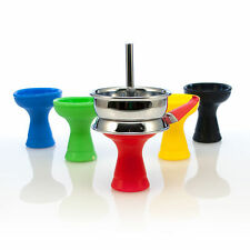 2 x Hookah Silicone Bowl with Pan. Free Shipping