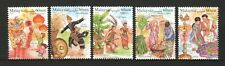 MALAYSIA 2019 MALAYSIAN FESTIVALS 3RD SERIES COMP. SET  OF 5 STAMPS IN MINT MNH